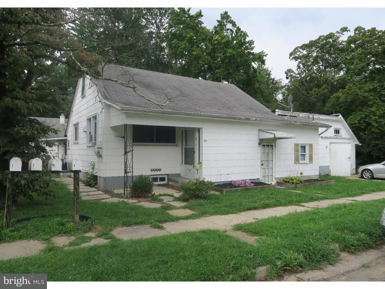 Quadraplex for Sale at 511 CHERRY Street Roebling, New Jersey 08554 United States