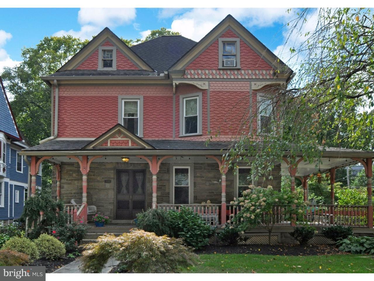 Casa Unifamiliar por un Venta en 156 GREENWOOD Avenue Wyncote, Pennsylvania 19095 Estados Unidos