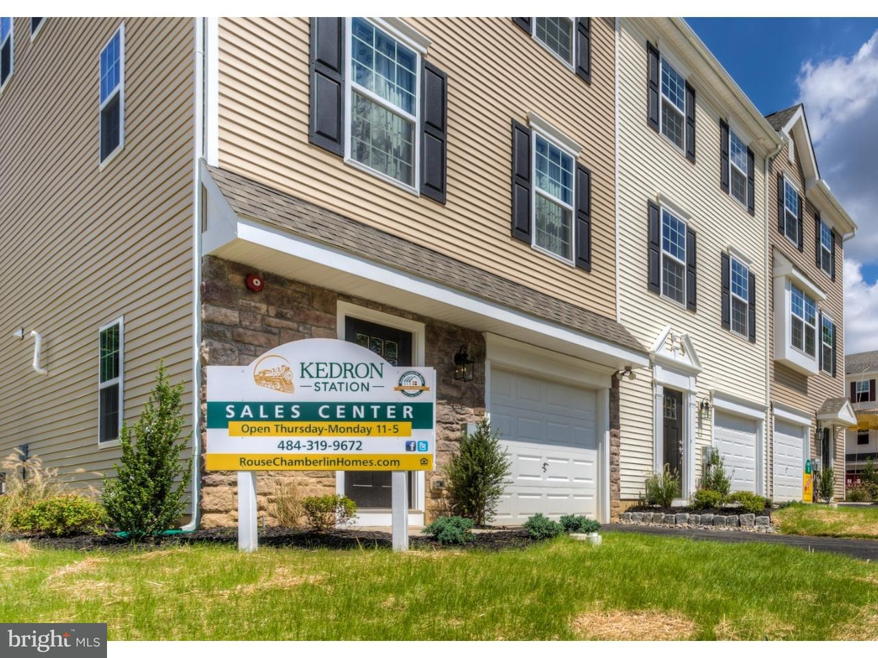 Townhouse for Sale at Lot #15 FARADAY Court Morton, Pennsylvania 19070 United States
