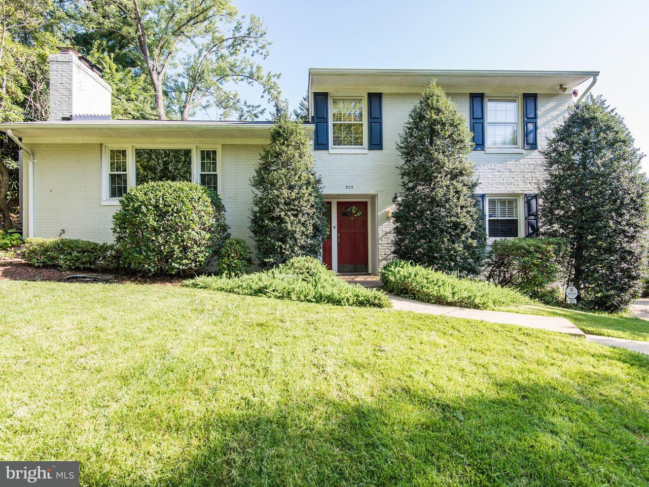Single Family Home for Sale at 303 MOUNT Place 303 MOUNT Place Alexandria, Virginia 22305 United States