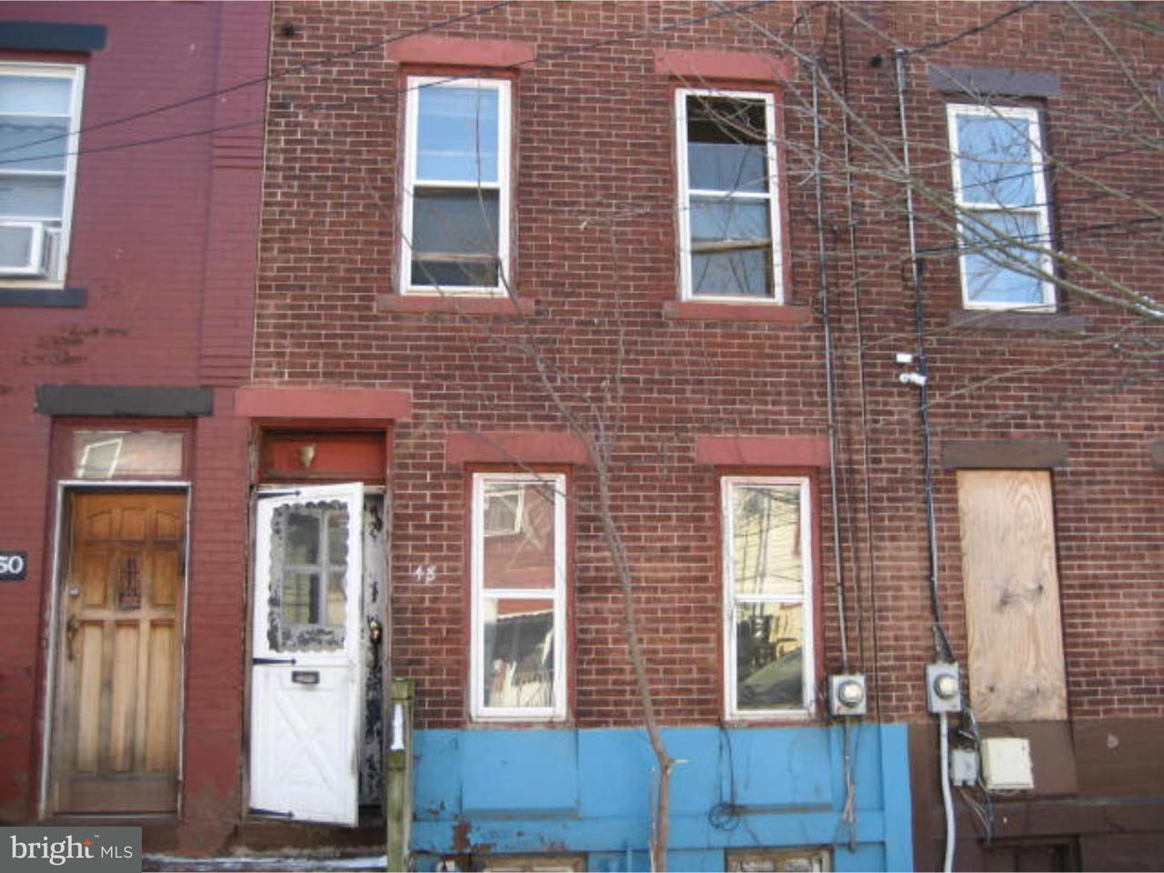 联栋屋 为 出租 在 48 MECHANICS Avenue 特伦顿, 新泽西州 08638 美国在/周边: Trenton City