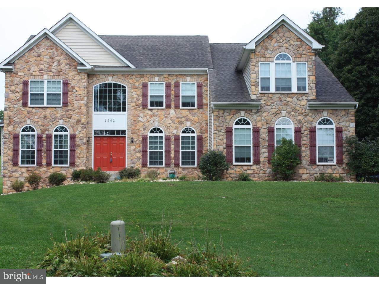 Enfamiljshus för Försäljning vid 1562 BRACKENVILLE Road Hockessin, Delaware 19707 Usa