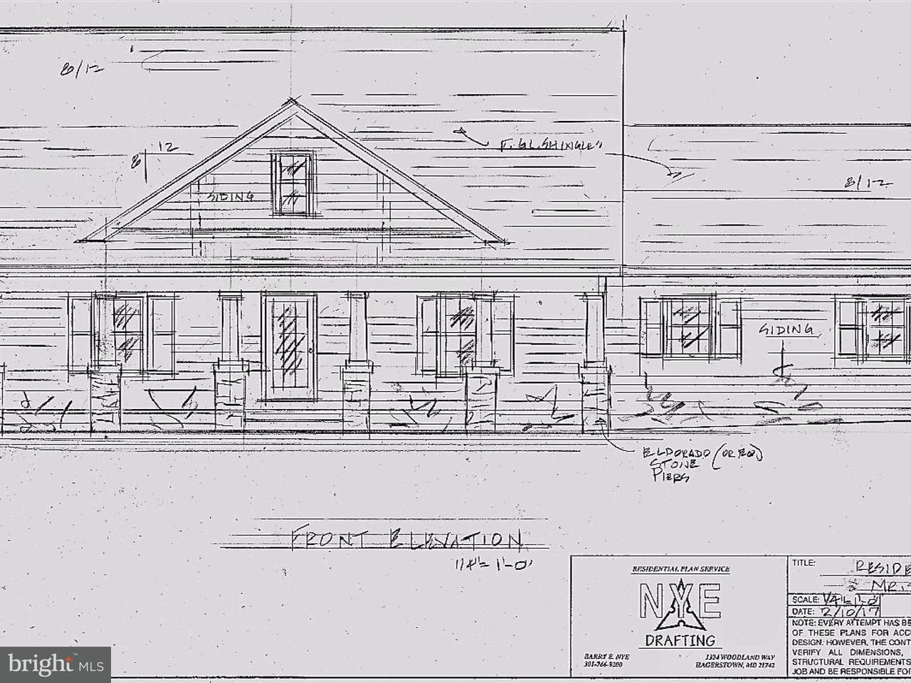 Частный односемейный дом для того Продажа на 2339 KAETZEL Road 2339 KAETZEL Road Knoxville, Мэриленд 21758 Соединенные Штаты