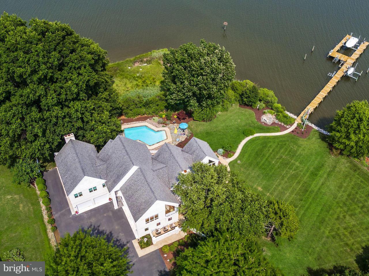 Maison unifamiliale pour l Vente à 212 SAYERS FOREST Drive 212 SAYERS FOREST Drive Queenstown, Maryland 21658 États-Unis
