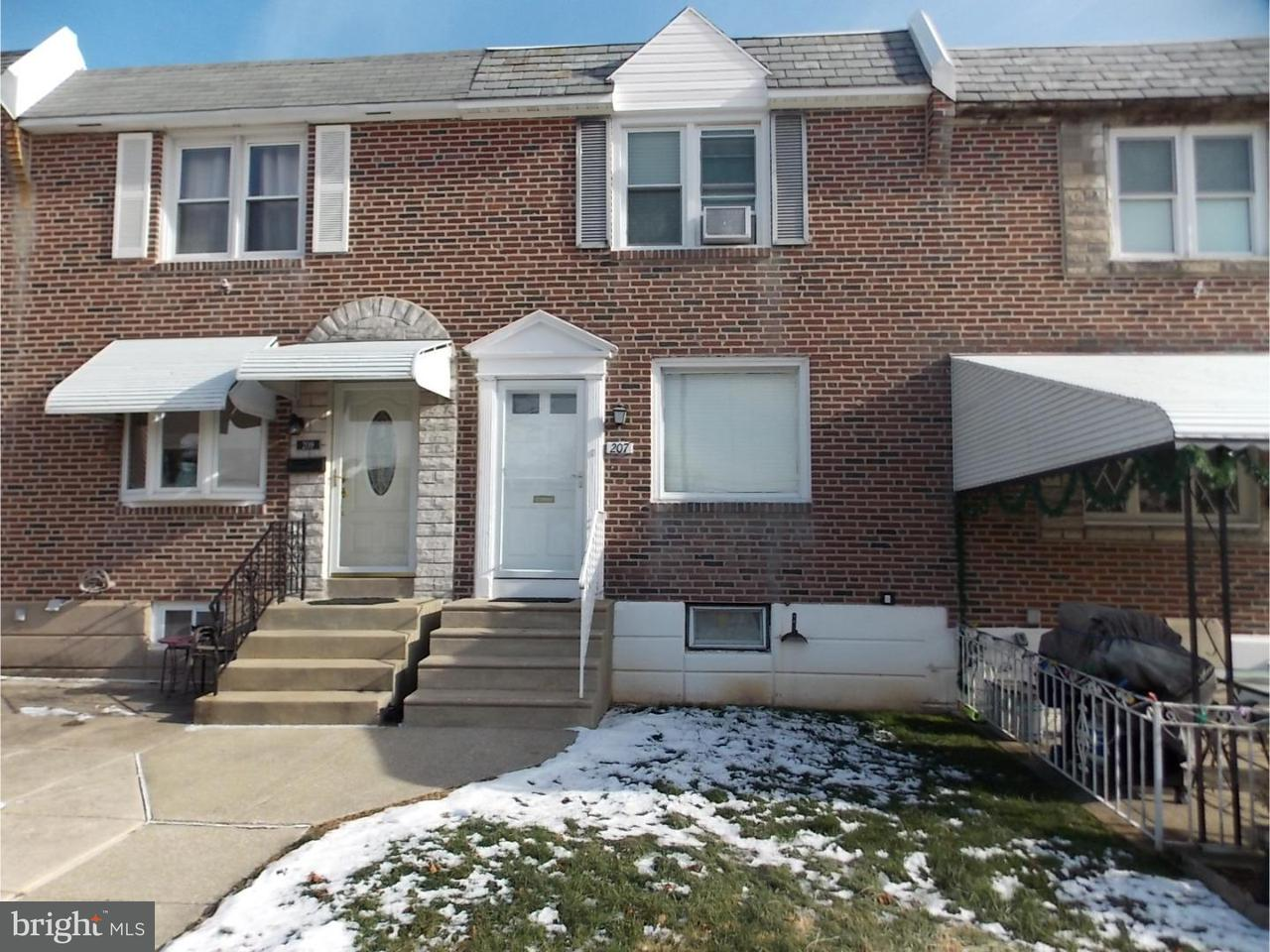 Townhouse for Sale at 207 WESTBROOK Drive Clifton Heights, Pennsylvania 19018 United States