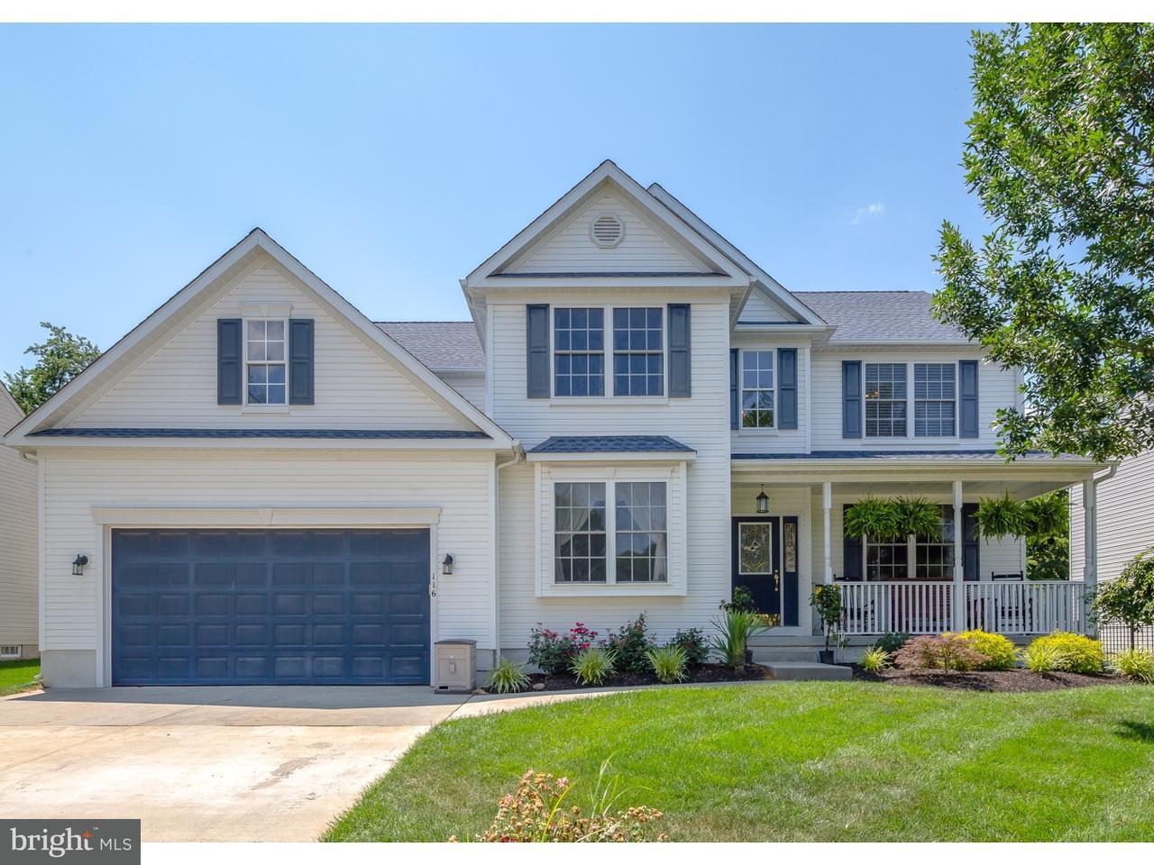 Частный односемейный дом для того Продажа на 116 LIBERTY Court Logan Township, Нью-Джерси 08085 Соединенные Штаты