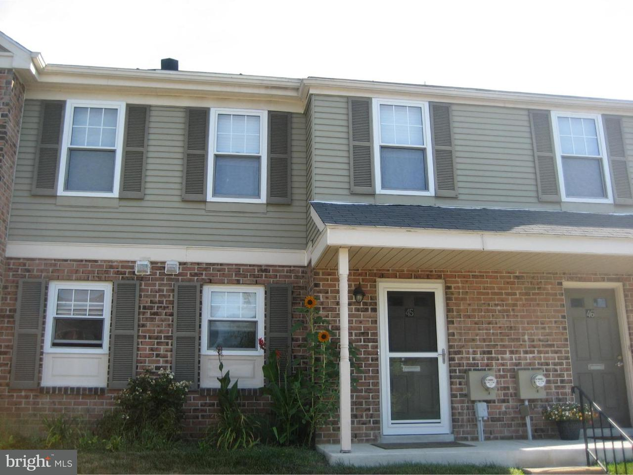 Townhouse for Rent at 45 WINSTON Court Blue Bell, Pennsylvania 19422 United States