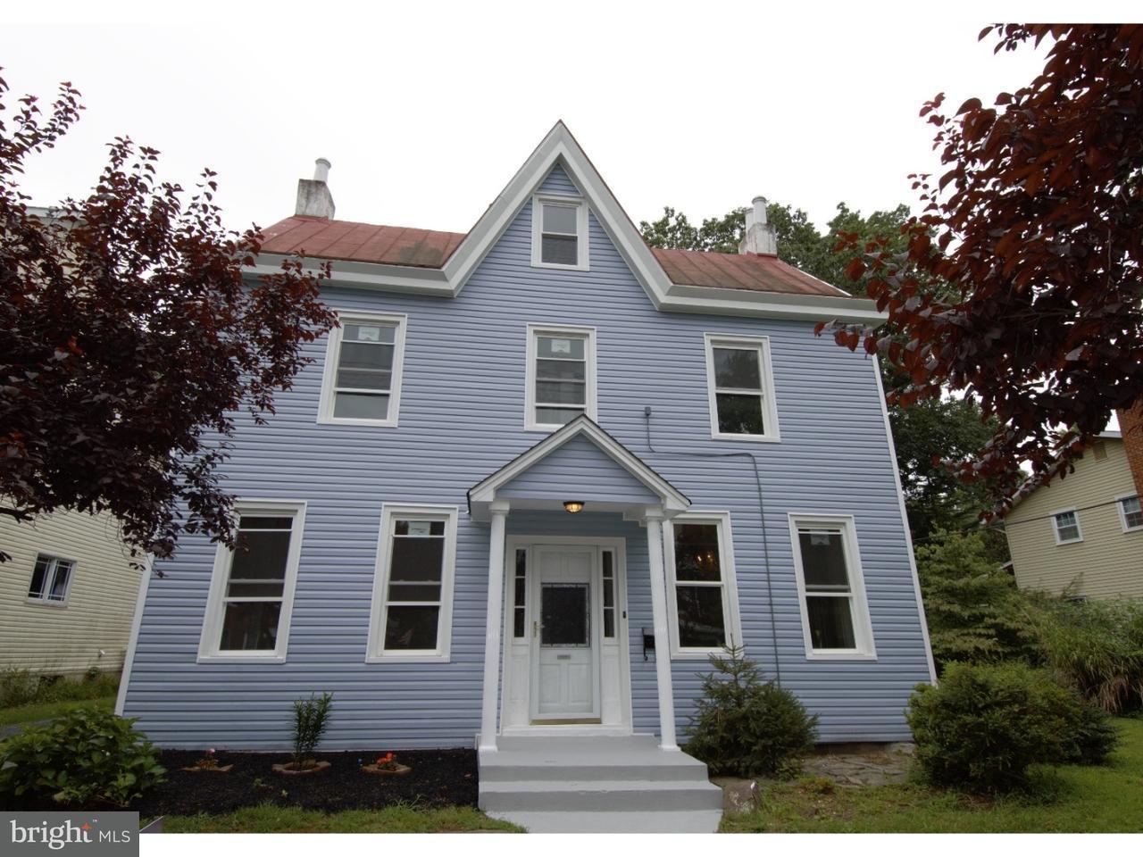 Частный односемейный дом для того Продажа на 44 WARREN Street Beverly, Нью-Джерси 08010 Соединенные Штаты