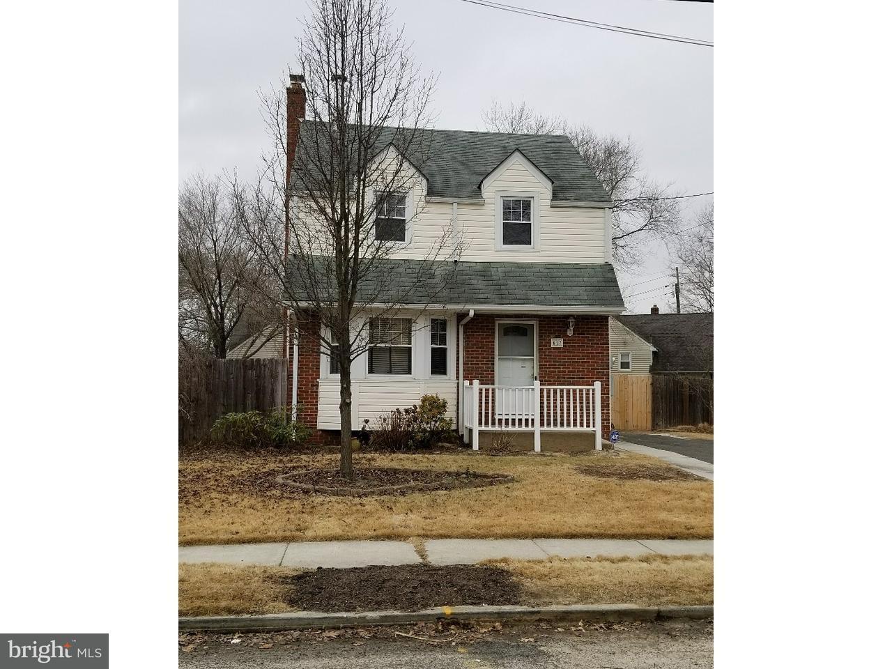 独户住宅 为 销售 在 417 ELM Avenue Woodbury, 新泽西州 08096 美国