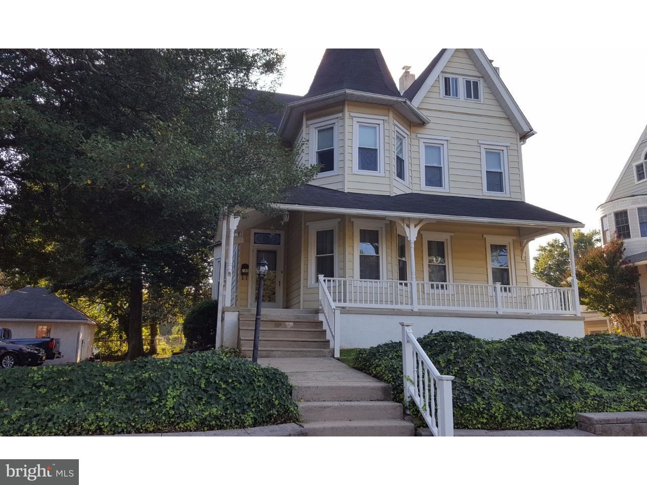 Частный односемейный дом для того Продажа на 140 W RIDLEY Avenue Norwood, Пенсильвания 19074 Соединенные Штаты