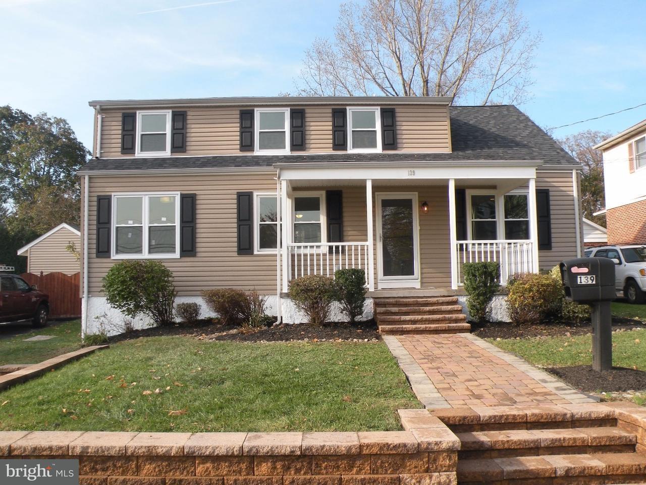 Частный односемейный дом для того Аренда на 139 RONALD Road Aston, Пенсильвания 19014 Соединенные Штаты