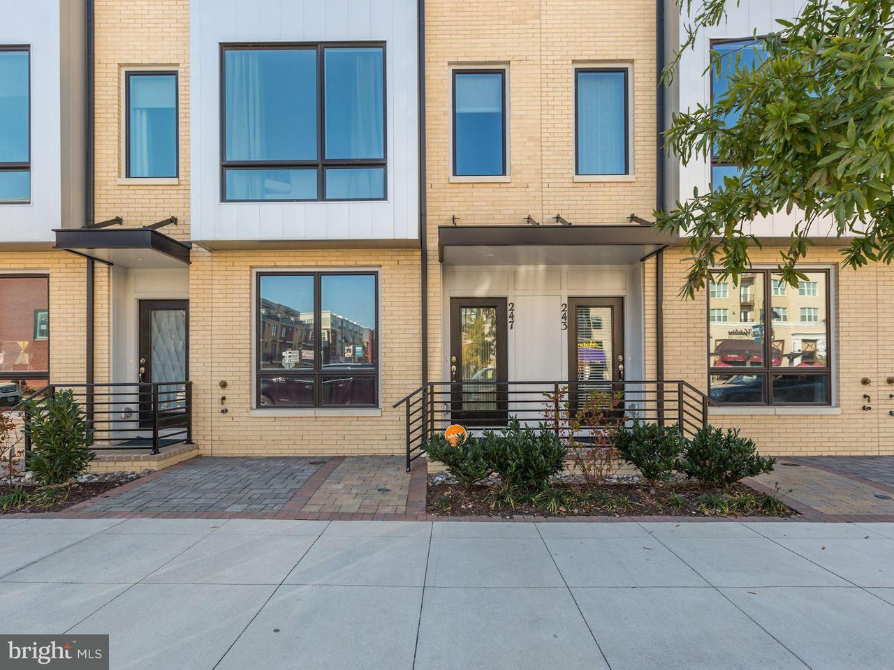 Townhouse for Sale at 247 CROWN PARK Avenue 247 CROWN PARK Avenue Gaithersburg, Maryland 20878 United States