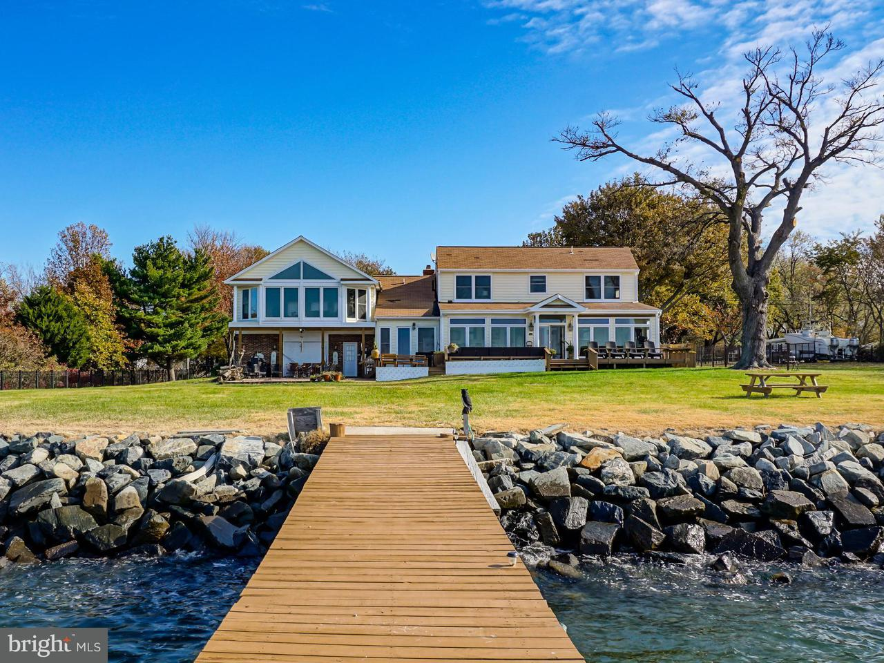 Single Family Home for Sale at 406 Bay Drive 406 Bay Drive Stevensville, Maryland 21666 United States