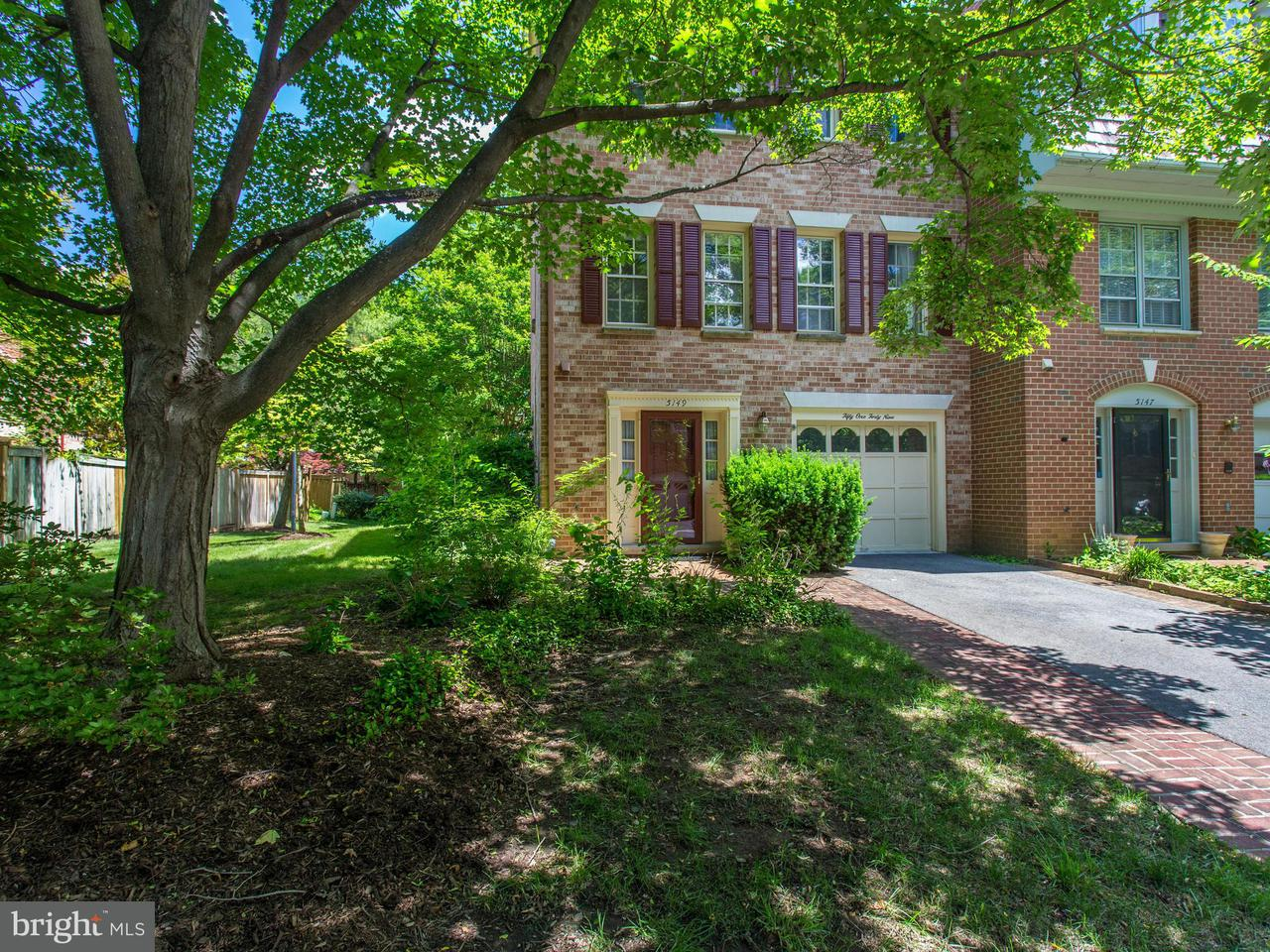 Townhouse for Sale at 5149 WOODMIRE Lane 5149 WOODMIRE Lane Alexandria, Virginia 22311 United States