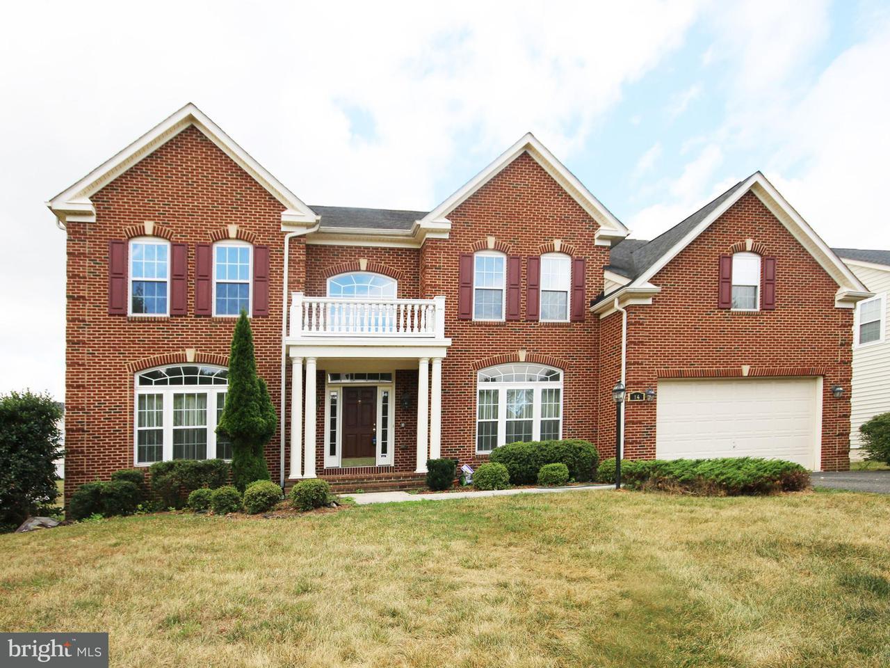 Maison unifamiliale pour l Vente à 14 FARMINGTON RD W 14 FARMINGTON RD W Accokeek, Maryland 20607 États-Unis