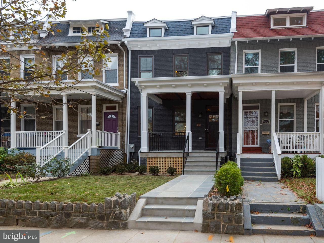 Townhouse for Sale at 430 TAYLOR ST NW 430 TAYLOR ST NW Washington, District Of Columbia 20011 United States