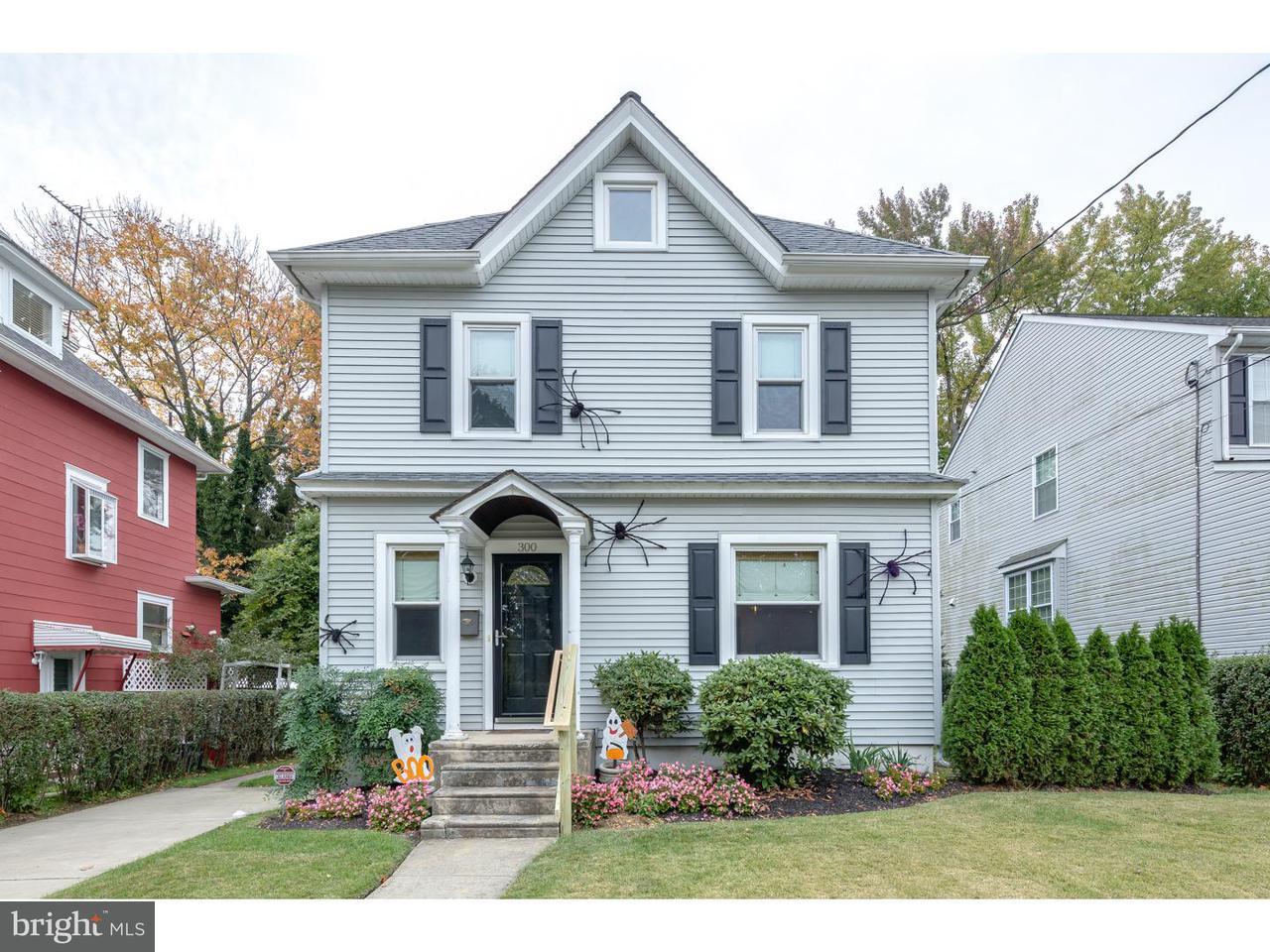 Maison unifamiliale pour l Vente à 300 TOLEDO Avenue Haddon Township, New Jersey 08108 États-Unis