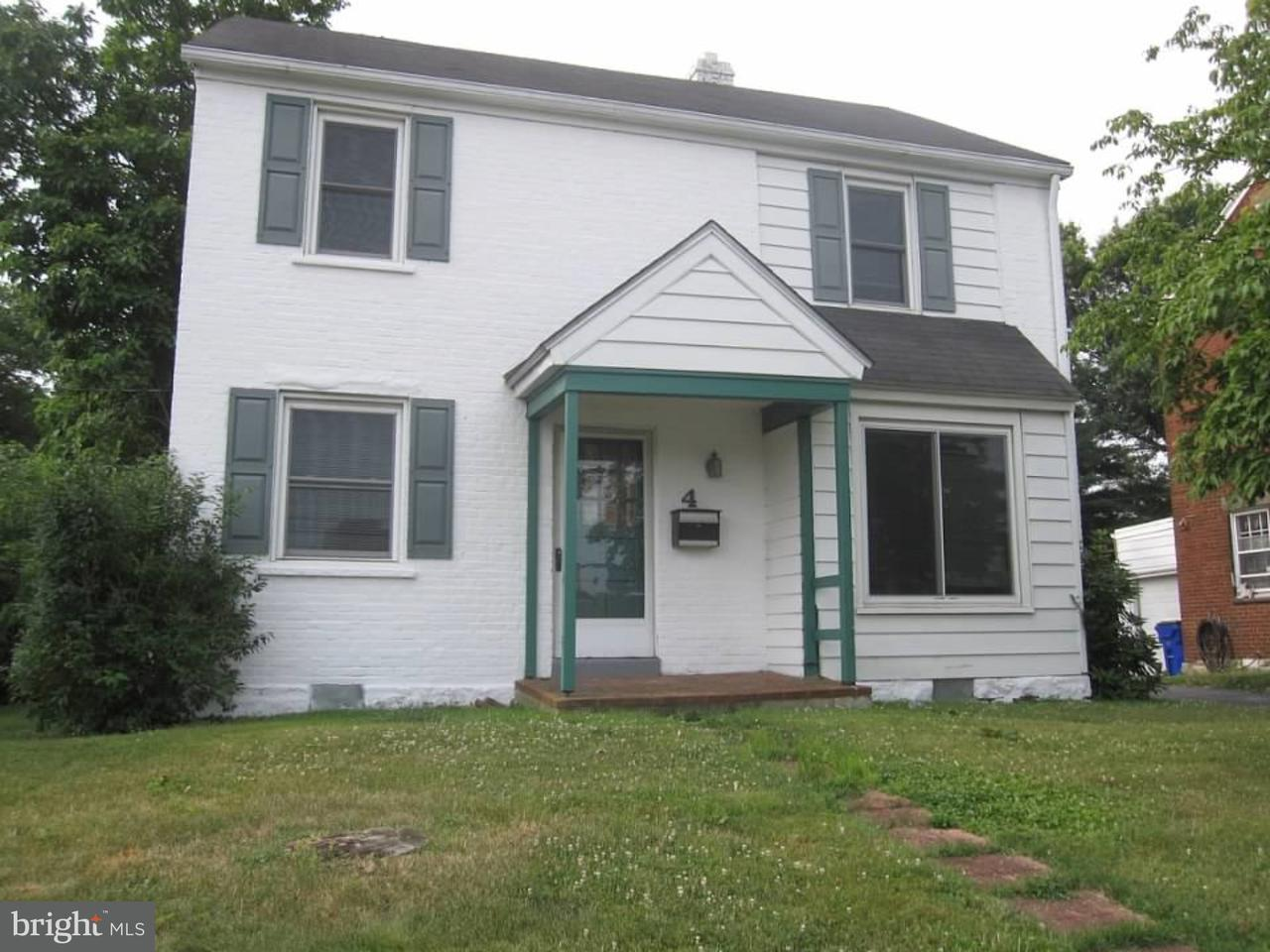 Single Family Home for Sale at 4 MURPHY Road Talleyville, Delaware 19803 United States