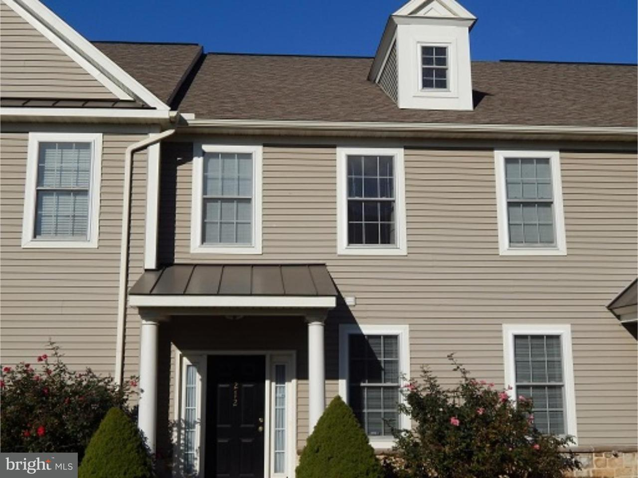 Townhouse for Rent at 212 SPRINGMONT Drive Wyomissing, Pennsylvania 19610 United States