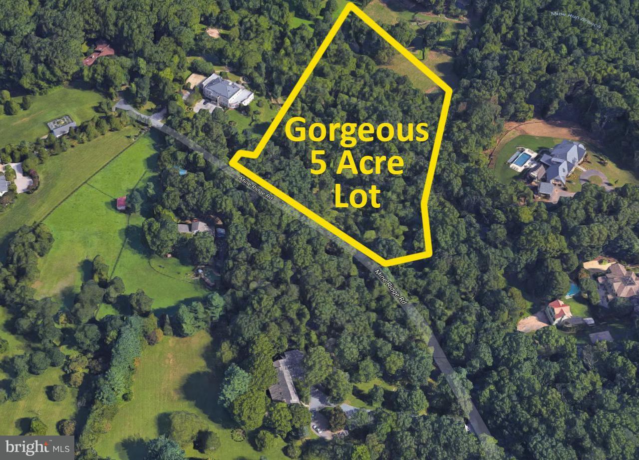 Land for Sale at 651 MINE RIDGE Road 651 MINE RIDGE Road Great Falls, Virginia 22066 United States