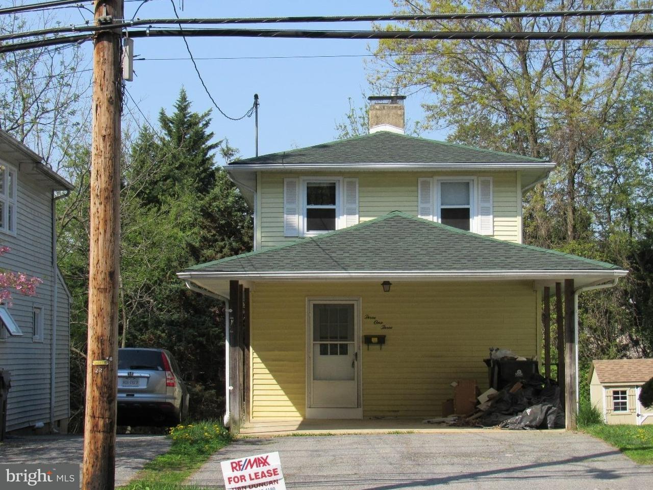 Single Family Home for Rent at 313 NEW LONDON Road Newark, Delaware 19711 United States
