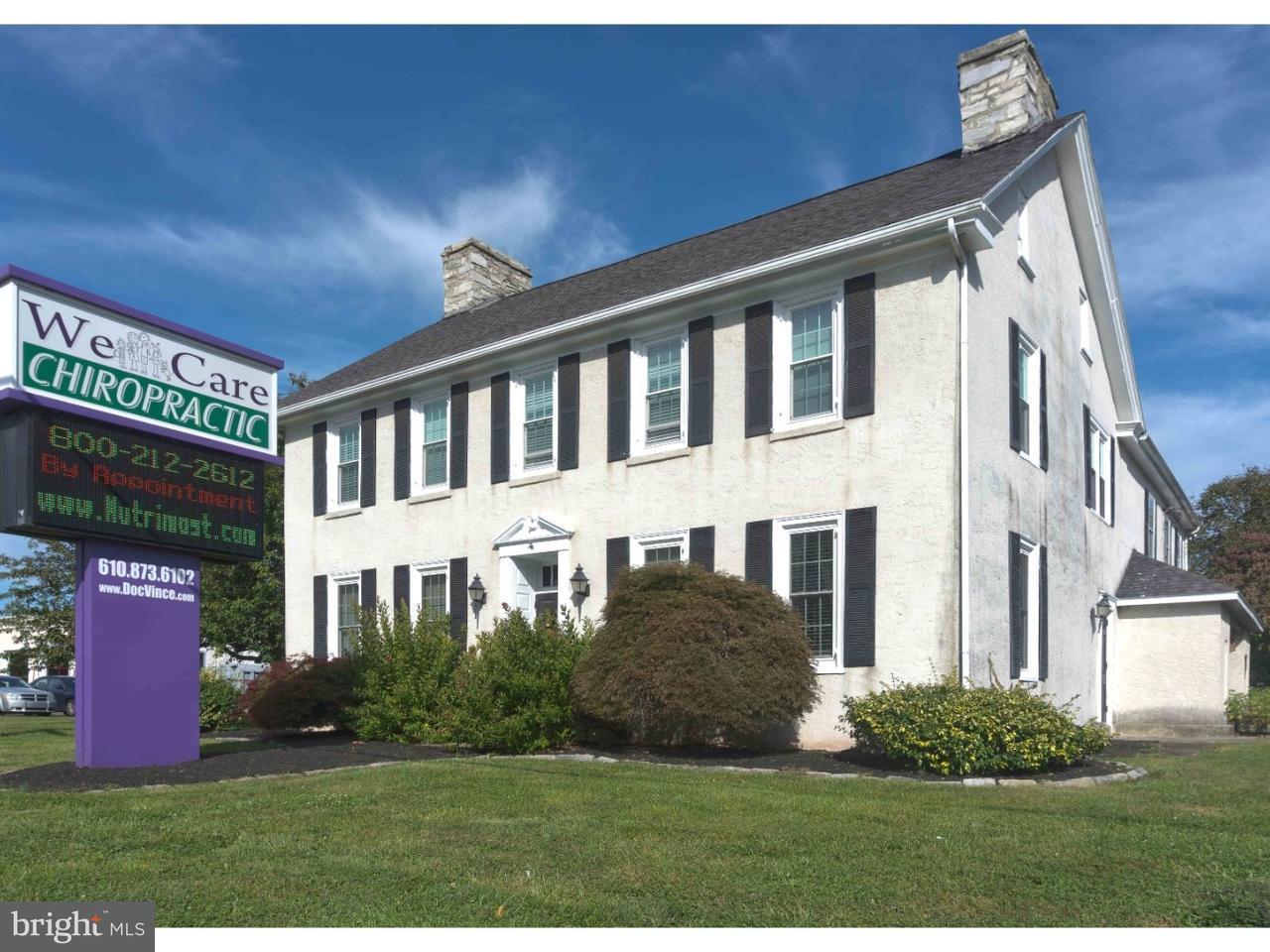 Частный односемейный дом для того Продажа на 4215 W LINCOLN HWY Downingtown, Пенсильвания 19335 Соединенные Штаты