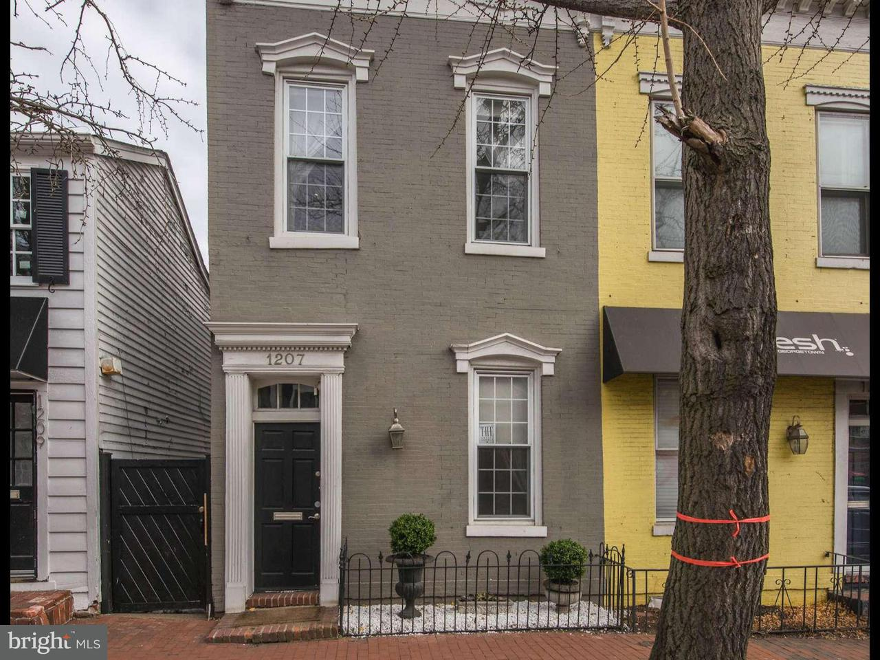 Townhouse for Sale at 1207 POTOMAC ST NW 1207 POTOMAC ST NW Washington, District Of Columbia 20007 United States