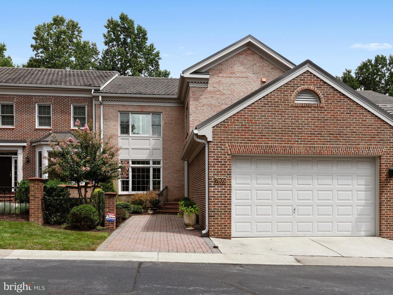 Stadthaus für Verkauf beim 7805 GATE POST WAY 7805 GATE POST WAY Potomac, Maryland 20854 Vereinigte Staaten