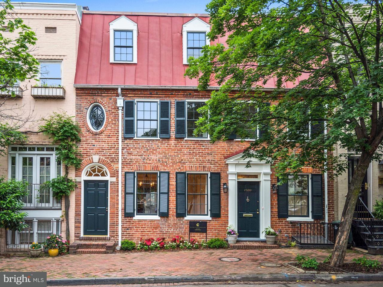 タウンハウス のために 売買 アット 1320 29TH ST NW 1320 29TH ST NW Washington, コロンビア特別区 20007 アメリカ合衆国