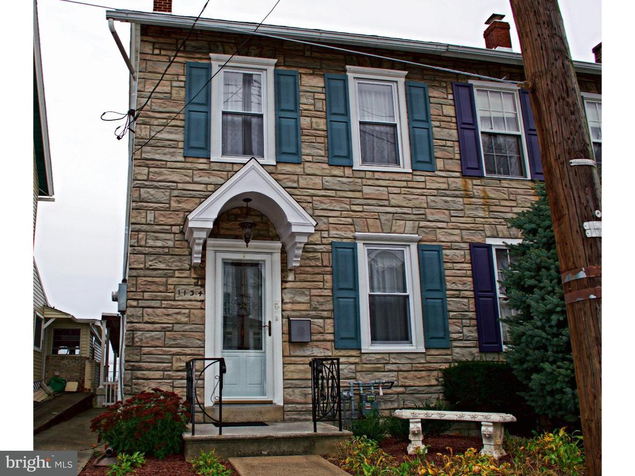Таунхаус для того Продажа на 1134 3RD Street Catasauqua, Пенсильвания 18032 Соединенные Штаты