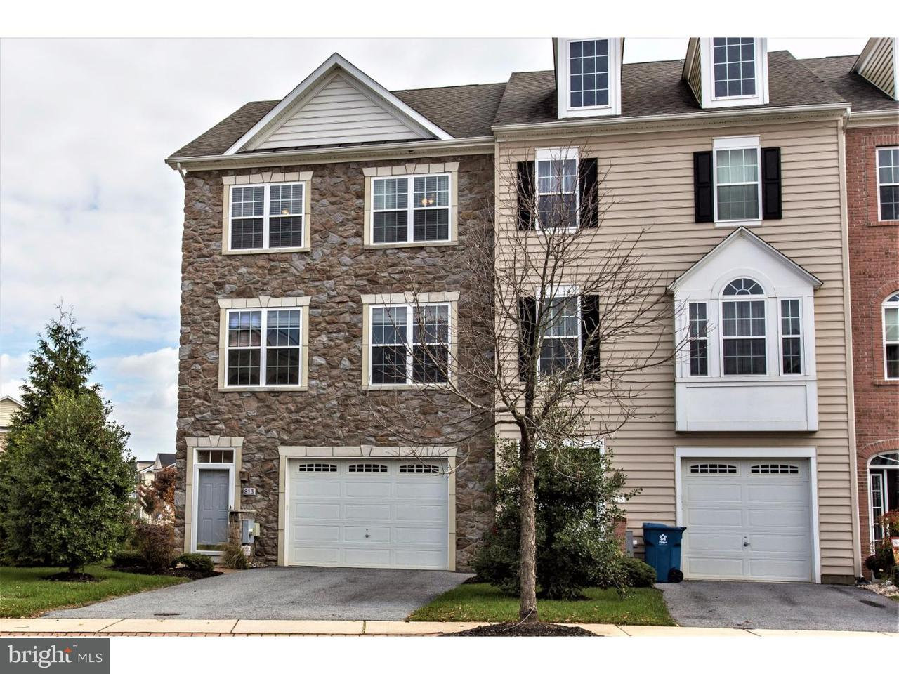 Townhouse for Sale at 813 HUBBEL Avenue Bear, Delaware 19701 United States