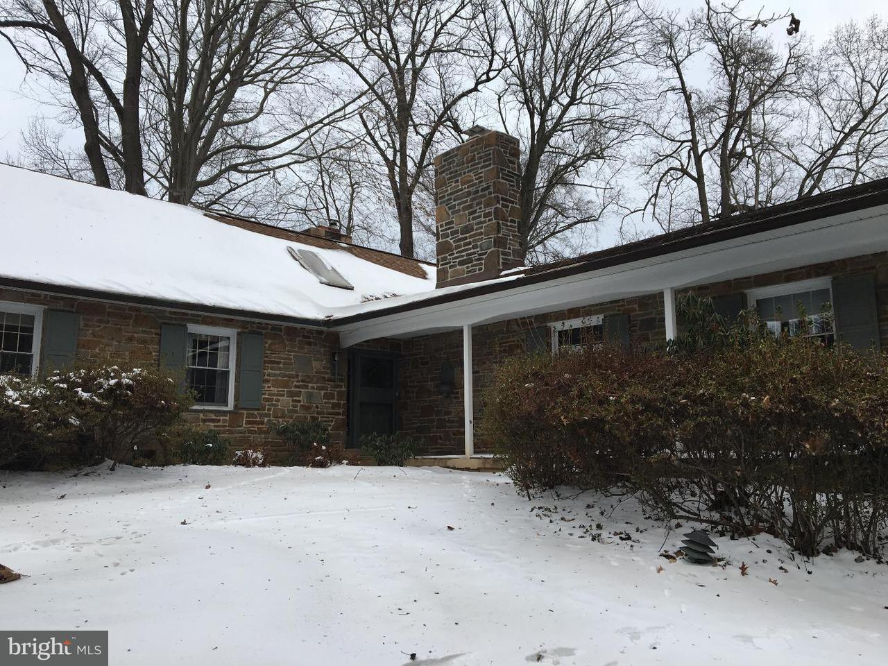 Частный односемейный дом для того Аренда на 800 COLONY Road Bryn Mawr, Пенсильвания 19010 Соединенные Штаты