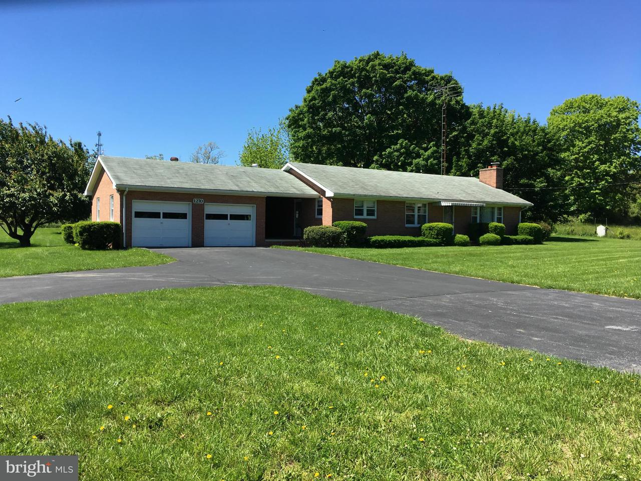 Single Family Home for Sale at 1270 NIPETOWN Road 1270 NIPETOWN Road Martinsburg, West Virginia 25403 United States