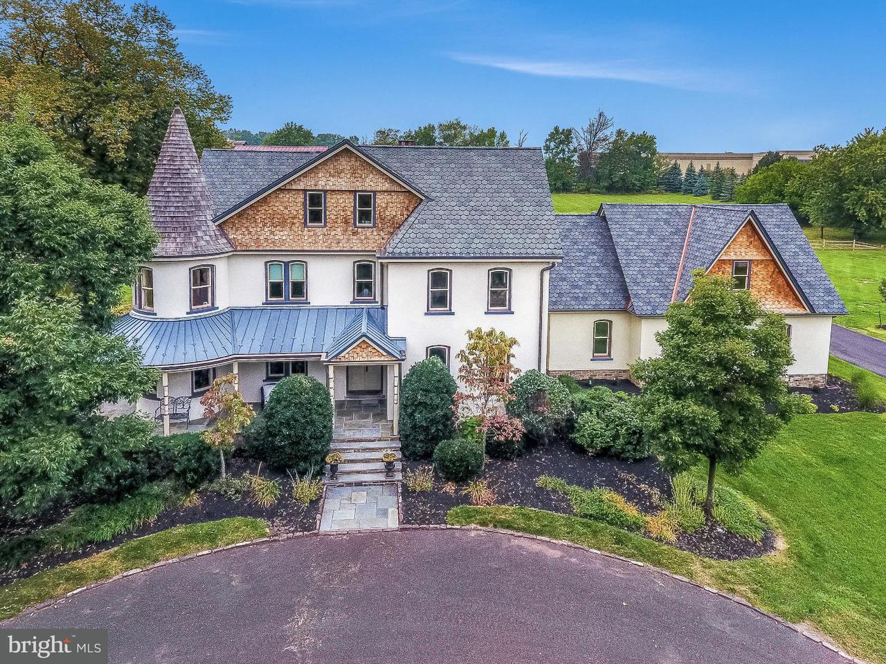 Maison unifamiliale pour l Vente à 1545 N TROOPER Road Worcester, Pennsylvanie 19401 États-Unis