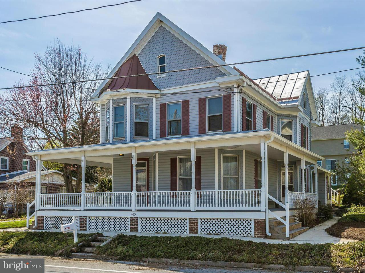 Single Family for Sale at 203 Main St S Woodsboro, Maryland 21798 United States