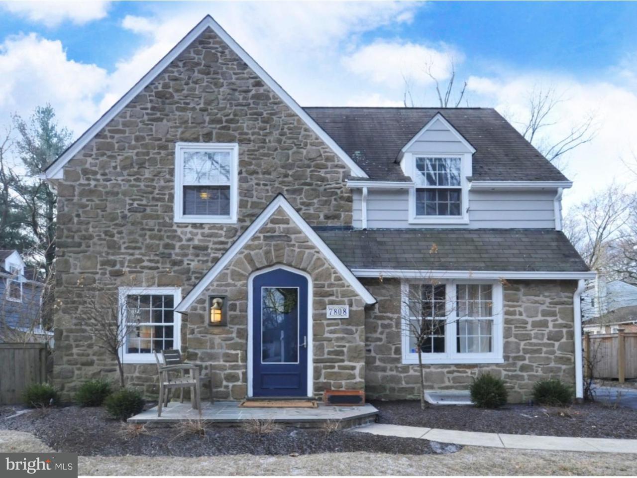 Casa Unifamiliar por un Venta en 7808 LINDEN Road Wyndmoor, Pennsylvania 19038 Estados Unidos