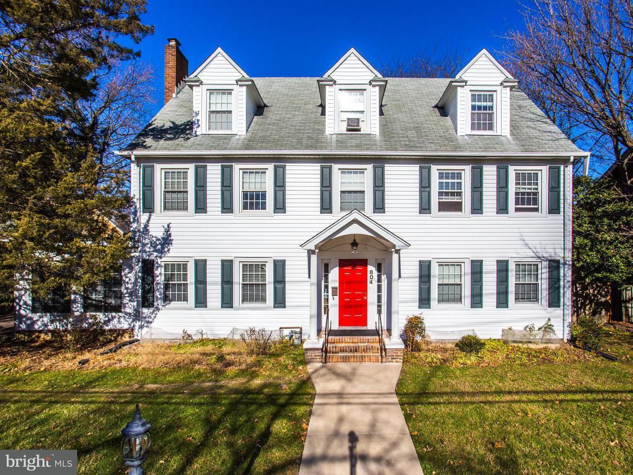 獨棟家庭住宅 為 出售 在 804 Maplewood Avenue 804 Maplewood Avenue Takoma Park, 馬里蘭州 20912 美國