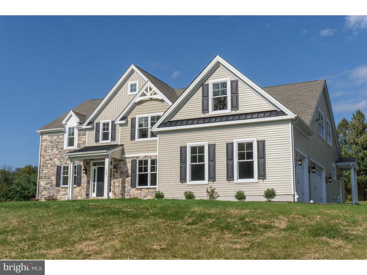 Частный односемейный дом для того Продажа на 523 WEBB Road Chadds Ford, Пенсильвания 19317 Соединенные Штаты