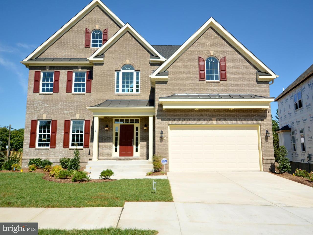 Частный односемейный дом для того Продажа на 10968 THOMPSONS CREEK Circle 10968 THOMPSONS CREEK Circle Fairfax Station, Виргиния 22039 Соединенные Штаты