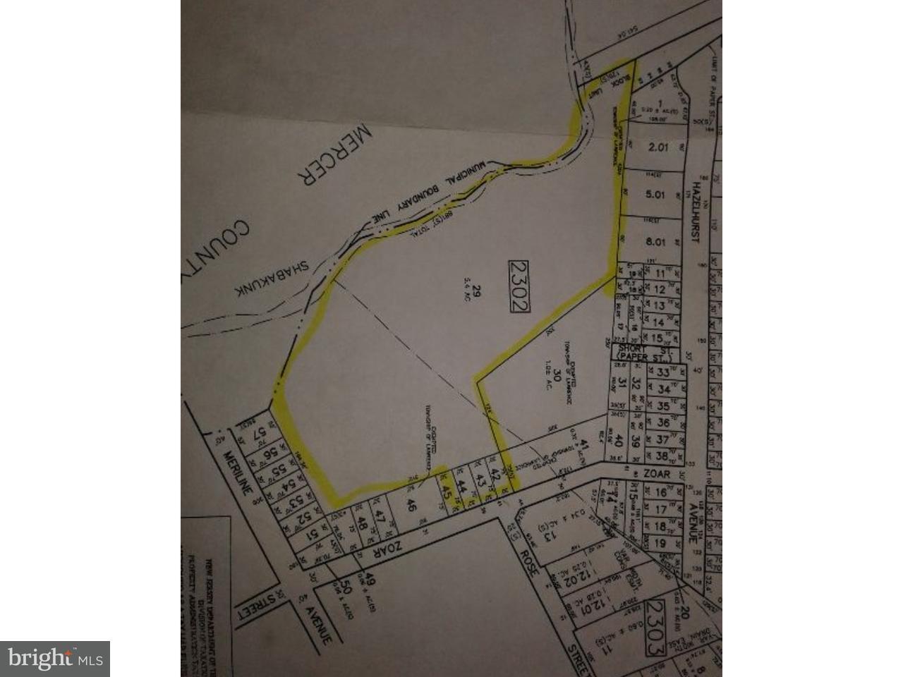 Trang trại vì Bán tại 39 ZOAR Avenue Lawrence Township, New Jersey 08648 Hoa KỳTrong/Xung quanh: Lawrence Township