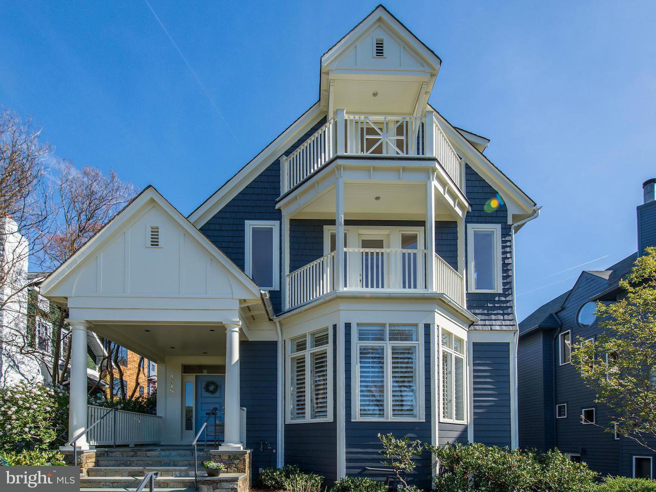 Casa Unifamiliar por un Venta en 4515 POTOMAC AVE NW 4515 POTOMAC AVE NW Washington, Distrito De Columbia 20007 Estados Unidos