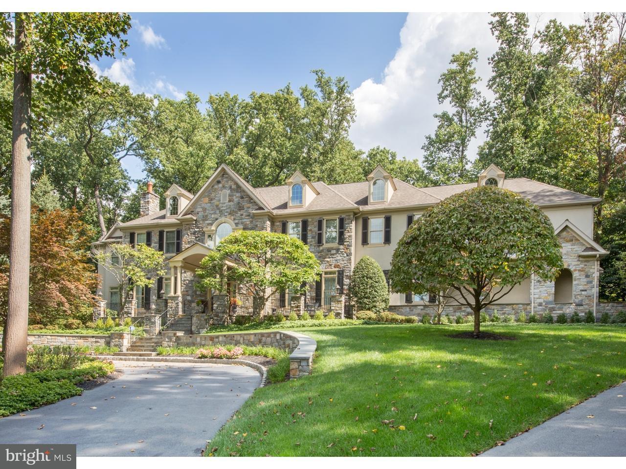 Частный односемейный дом для того Продажа на 1000 RADCLIFF Lane Lower Gwynedd, Пенсильвания 19002 Соединенные Штаты