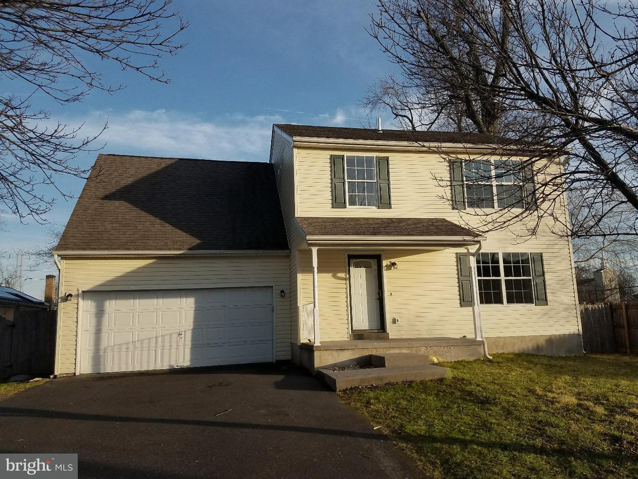 Частный односемейный дом для того Продажа на 2533 BUFFALO Avenue Feasterville, Пенсильвания 19053 Соединенные Штаты