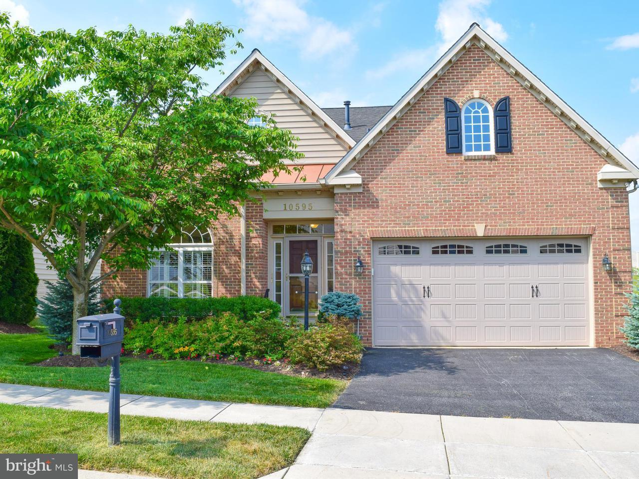 Casa Unifamiliar por un Venta en 10595 EDWARDIAN LN #58 10595 EDWARDIAN LN #58 New Market, Maryland 21774 Estados Unidos
