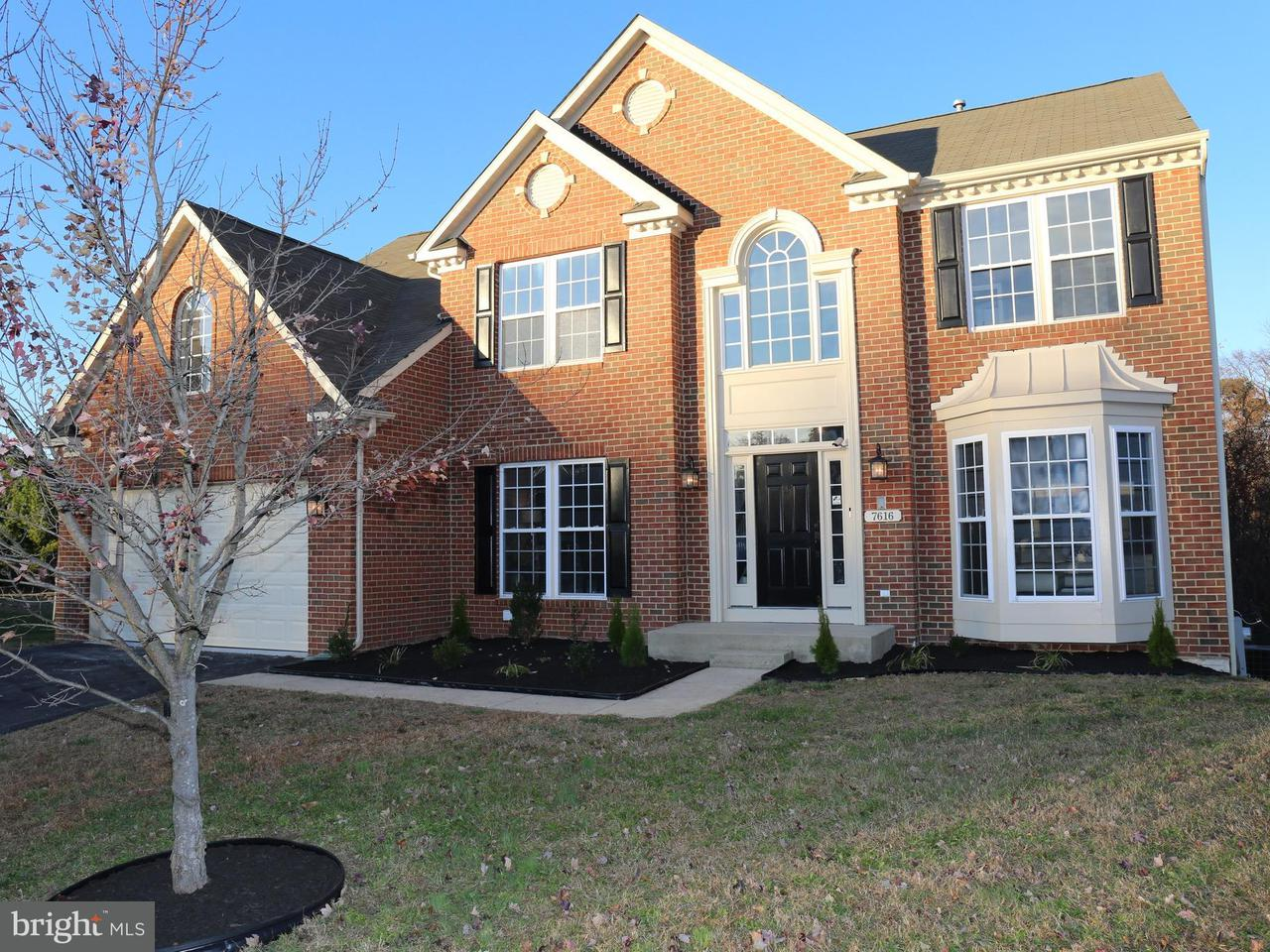 Single Family Home for Sale at 7616 FOXTRAIL Court 7616 FOXTRAIL Court Hanover, Maryland 21076 United States