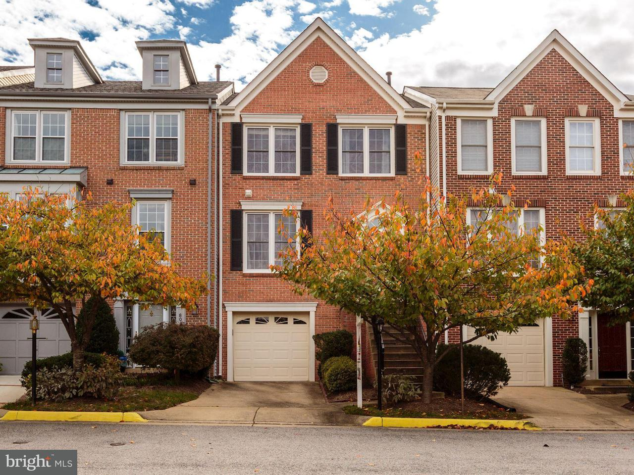 Townhouse for Sale at 8021 READINGTON Court 8021 READINGTON Court Springfield, Virginia 22152 United States