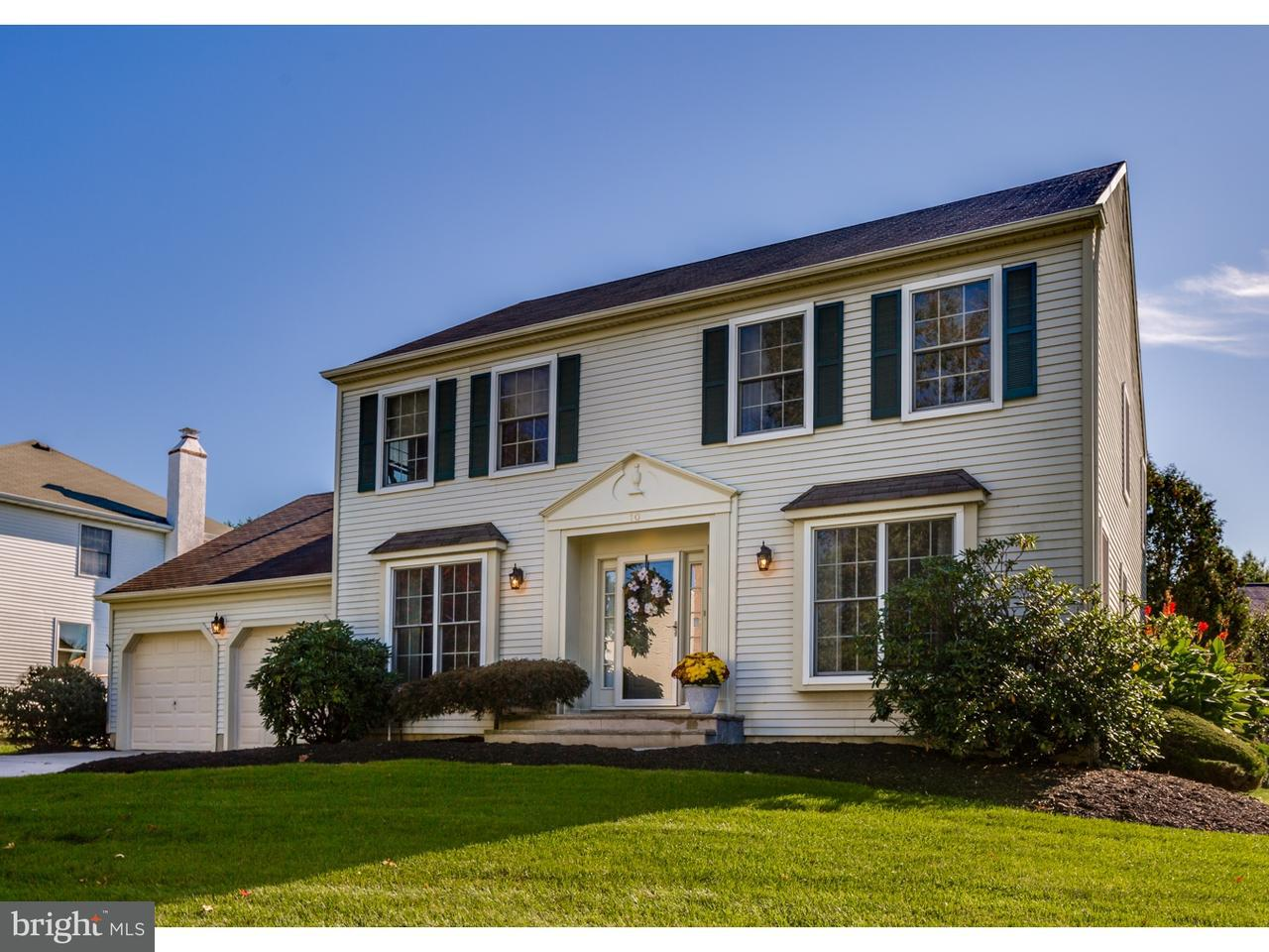 Maison unifamiliale pour l Vente à 10 COUNTRY SQUIRE Lane Evesham, New Jersey 08053 États-Unis