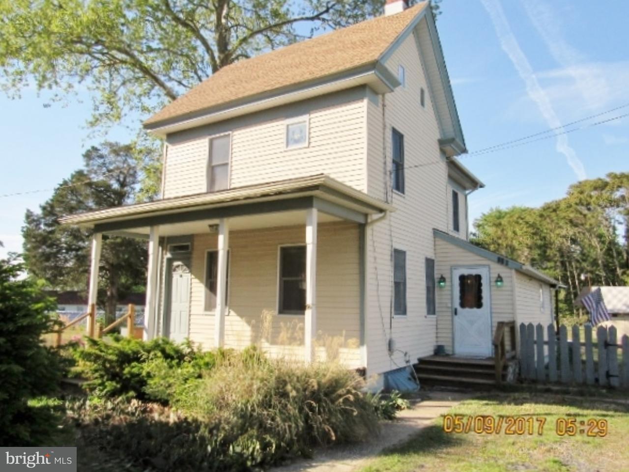 独户住宅 为 销售 在 105 CHURCH Street Dorchester, 新泽西州 08316 美国