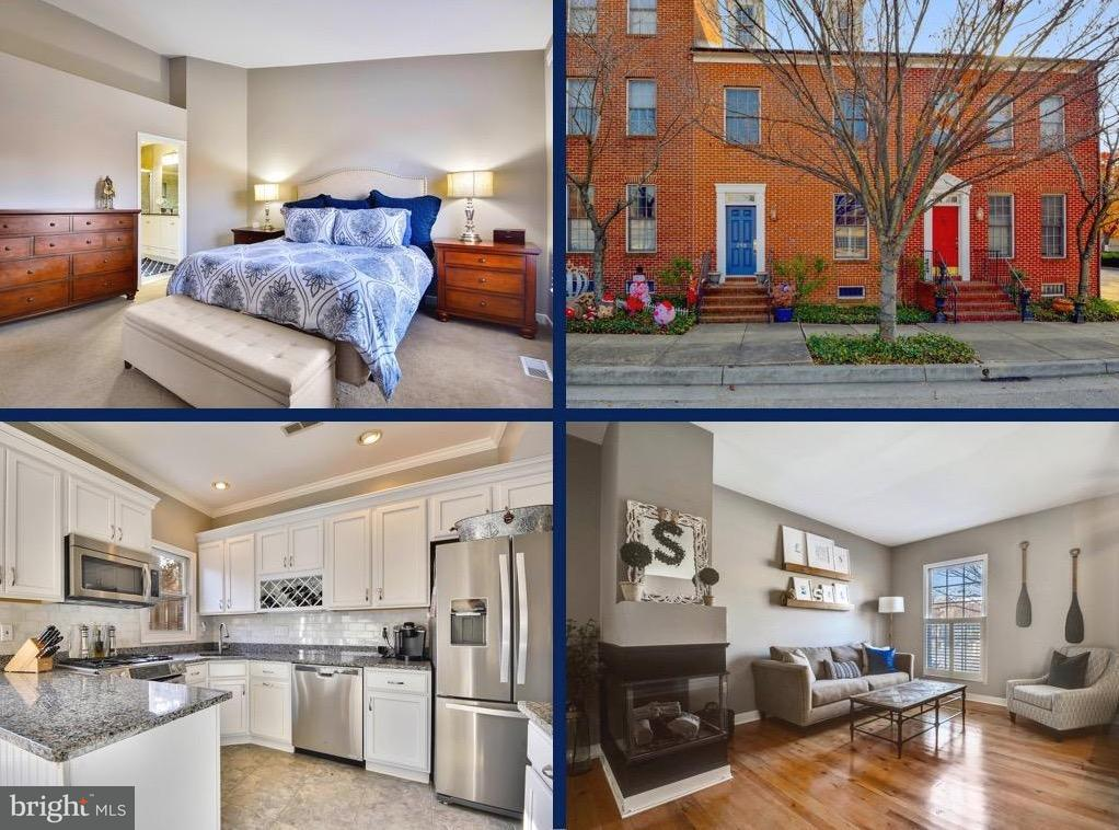Single Family for Sale at 209 Hill St Baltimore, Maryland 21230 United States
