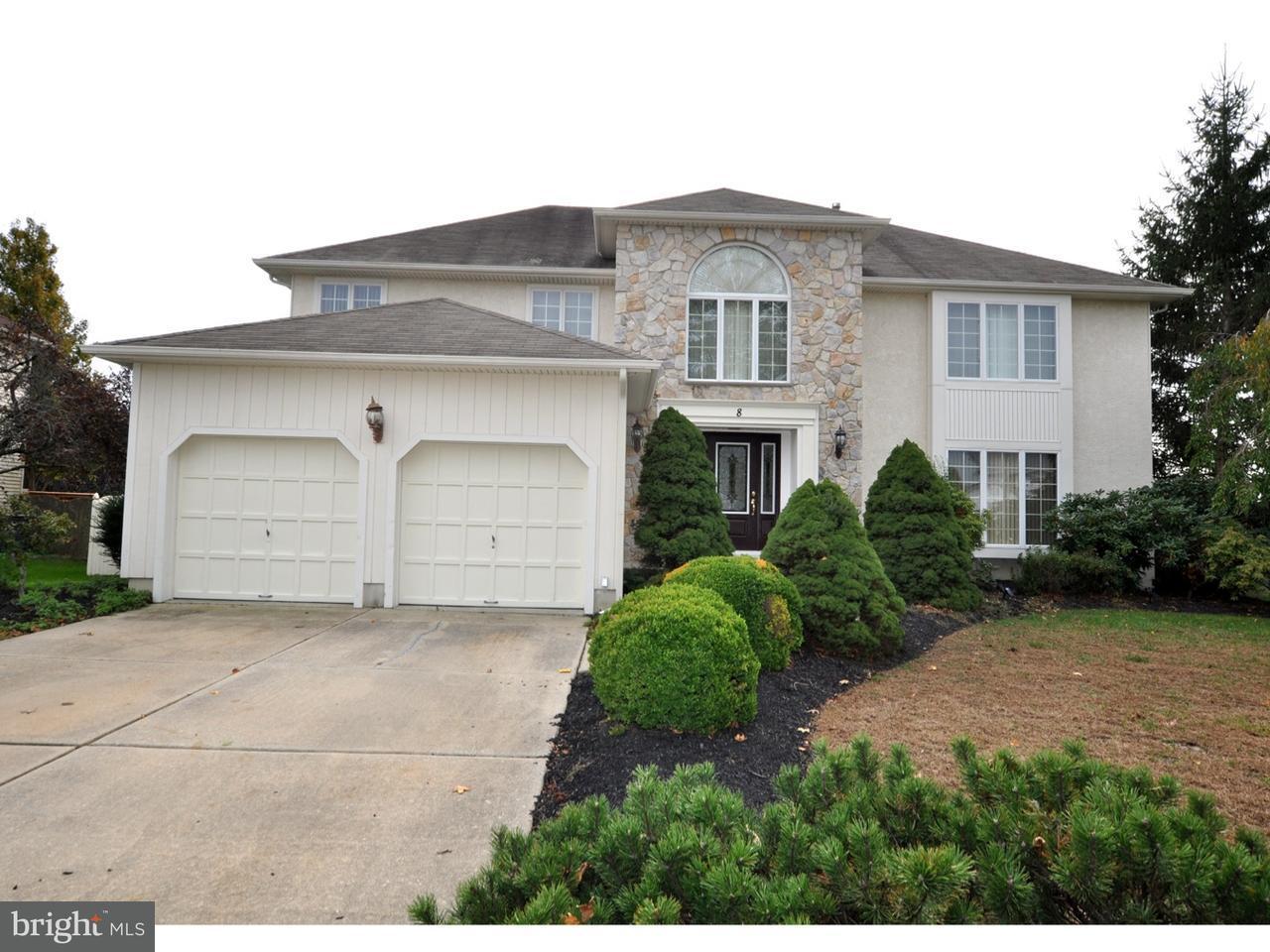 Maison unifamiliale pour l Vente à 8 PATRICK HENRY Drive Evesham, New Jersey 08053 États-Unis